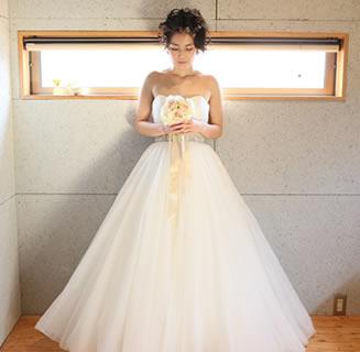 素敵なウェディングドレス