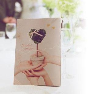 結婚式のペーパーアイテム