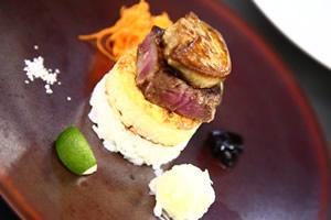 島根和牛ヒレ肉・フォアグラ丼
